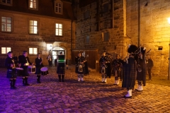 Schloss Thurnau am Abend