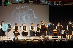 Moderation durch den Pipe Major