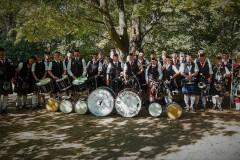 Die diesjährige Massed Band