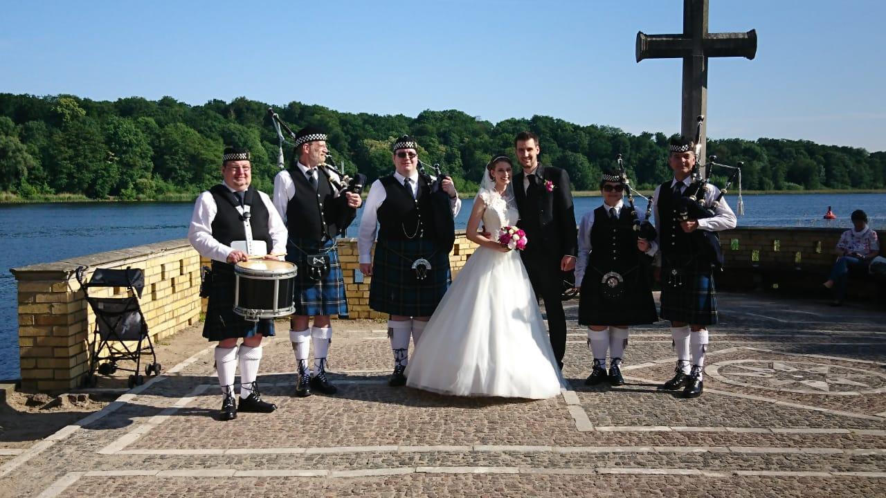 Hochzeit in der Sacrower Heilandskirche