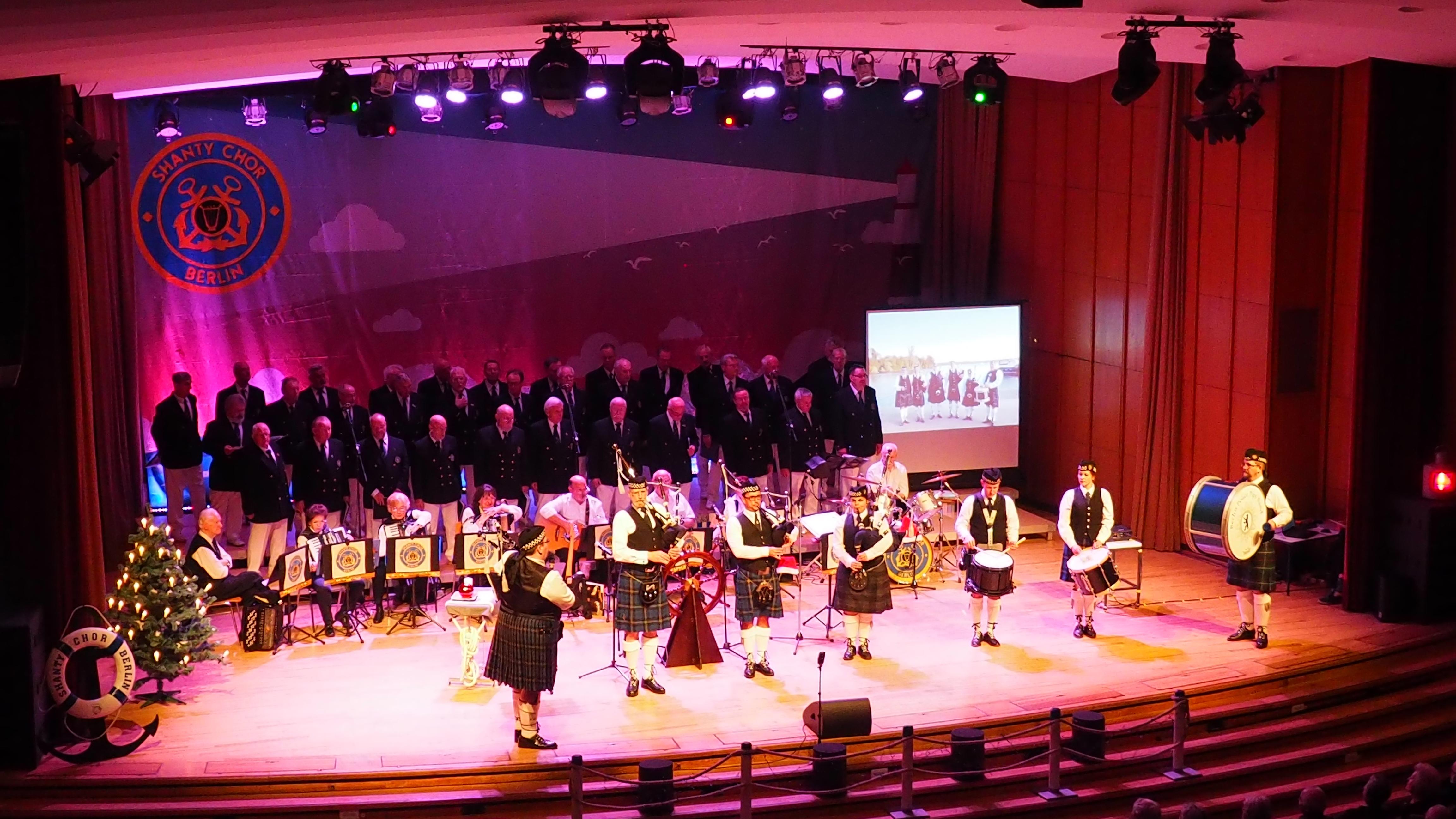 Weihnachtskonzert mit dem Shanty-Chor Berlin 2018