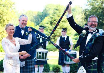 Schottische Hochzeit in Kittendorf