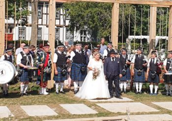 Ausflug in den hohen Norden … Hochzeit in Rostock und Platzkonzert